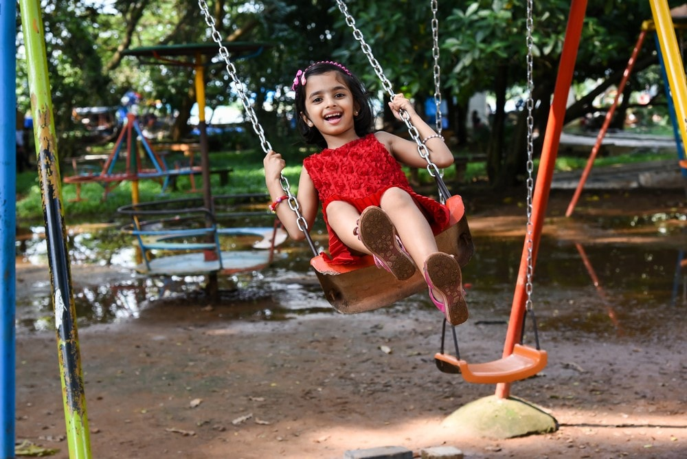 Kids' play areas in resorts offer children endless fun!